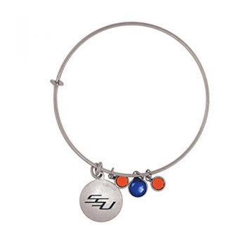 Savannah State University-Frankie Tyler Charmed Bracelet