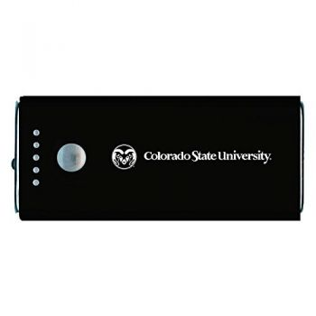 Colorado State University -Portable Cell Phone 5200 mAh Power Bank Charger -Black