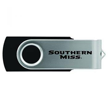 University of Southern Mississippi-8GB 2.0 USB Flash Drive-Black