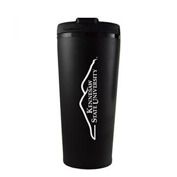Kennesaw State University -16 oz. Travel Mug Tumbler-Black