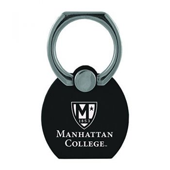 Manhattan College|Multi-Functional Phone Stand Tech Ring|Black