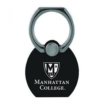 Manhattan College|Multi-Functional Phone Stand Tech Ring|Black