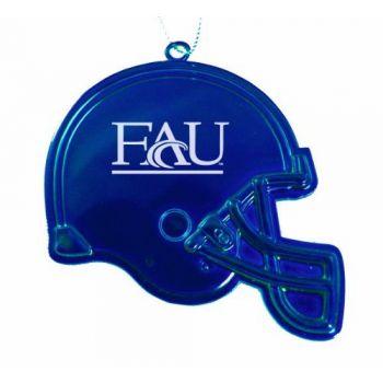 Florida Atlantic University - Christmas Holiday Football Helmet Ornament - Blue