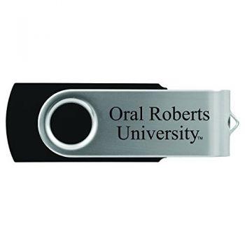 Oral Roberts University -8GB 2.0 USB Flash Drive-Black