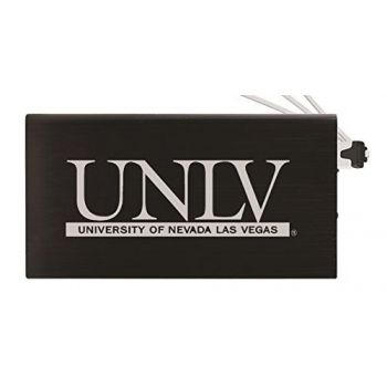 8000 mAh Portable Cell Phone Charger-University of Nevada Las Vegas-Black