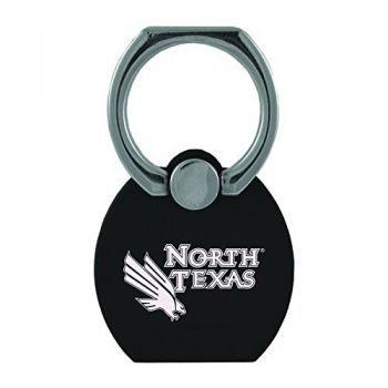 University of North Texas|Multi-Functional Phone Stand Tech Ring|Black