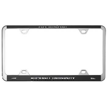 Bucknell University -Metal License Plate Frame-Black