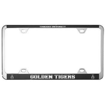 Tuskegee University -Metal License Plate Frame-Black