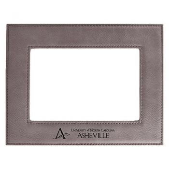 University of North Carolina at Asheville-Velour Picture Frame 4x6-Grey