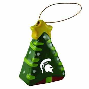 Michigan State University-Christmas Tree Ornament