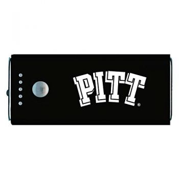 University of Pittsburgh -Portable Cell Phone 5200 mAh Power Bank Charger -Black