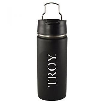 Troy University-20 oz. Travel Tumbler-Black