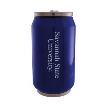 Savannah State University - Stainless Steel Tailgate Can - Blue