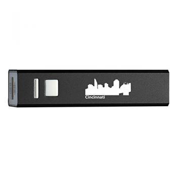 Quick Charge Portable Power Bank 2600 mAh - Cincinnati City Skyline