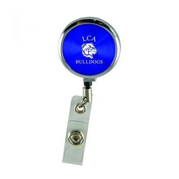 Lincoln University-Retractable Badge Reel-Blue