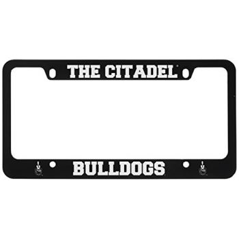 The Citadel-Metal License Plate Frame-Black
