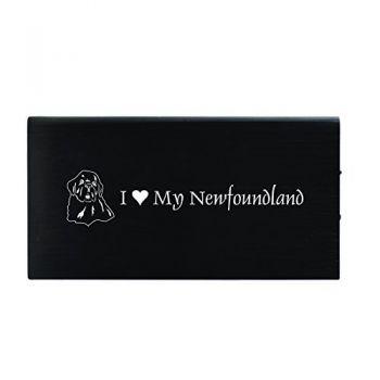 Quick Charge Portable Power Bank 8000 mAh  - I Love My Newfoundland Dog