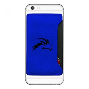 University of North Florida-Cell Phone Card Holder-Blue