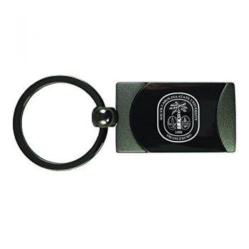 South Carolina State University -Two-Toned Gun Metal Key Tag-Gunmetal