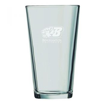 Binghamton University-16 oz. Pint Glass