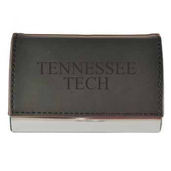 Velour Business Cardholder-Tennessee Technological University-Black