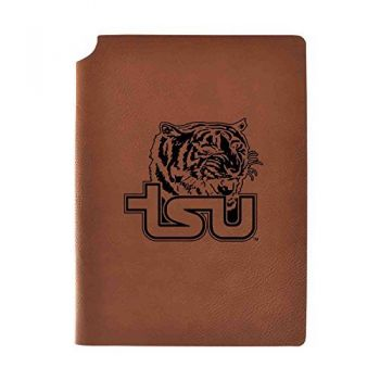 Tennessee State University Velour Journal with Pen Holder|Carbon Etched|Officially Licensed Collegiate Journal|
