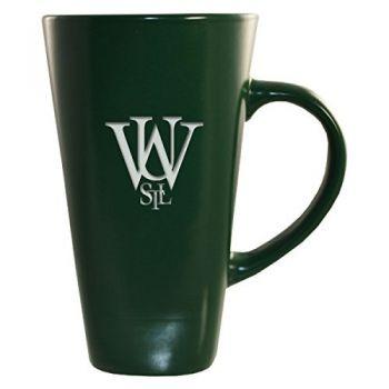 Washington University in St. Louis-16 oz. Tall Ceramic Coffee Mug-Green