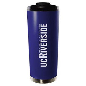 University of California, Riverside-16oz. Stainless Steel Vacuum Insulated Travel Mug Tumbler-Blue