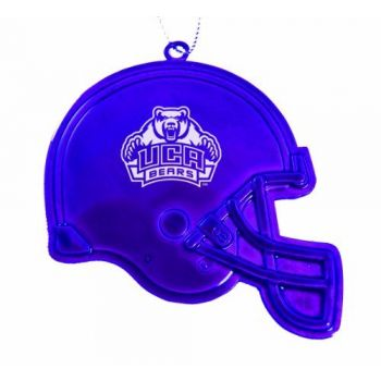 University of Central Arkansas - Christmas Holiday Football Helmet Ornament - Purple