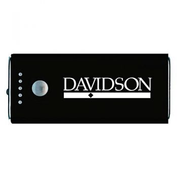 Davidson College-Portable Cell Phone 5200 mAh Power Bank Charger -Black