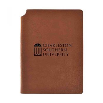 Charleston Southern University Velour Journal with Pen Holder|Carbon Etched|Officially Licensed Collegiate Journal|