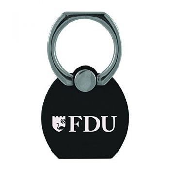 Fairleigh Dickinson University|Multi-Functional Phone Stand Tech Ring|Black