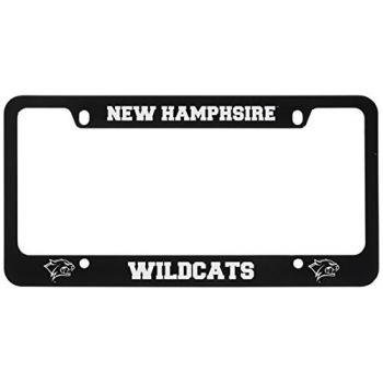 University of New Hampshire -Metal License Plate Frame-Black