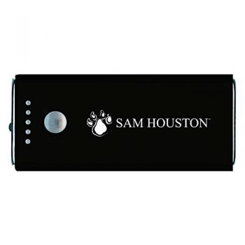 Sam Houston State University -Portable Cell Phone 5200 mAh Power Bank Charger -Black