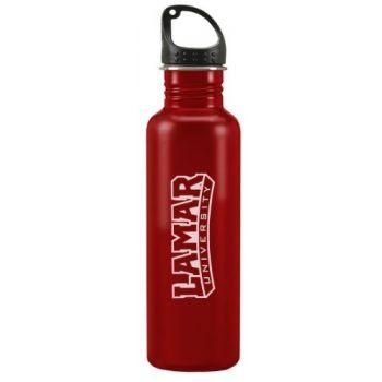 Lamar University - 24-ounce Sport Water Bottle - Red