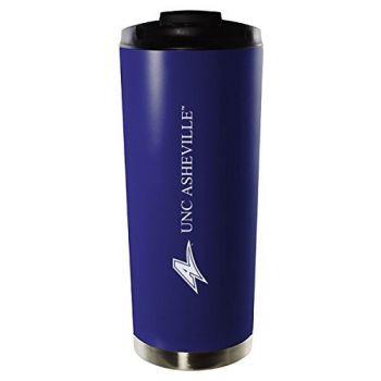 University of North Carolina at Asheville-16oz. Stainless Steel Vacuum Insulated Travel Mug Tumbler-Blue