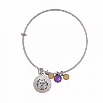 James Madison University-Frankie Tyler Charmed Bracelet