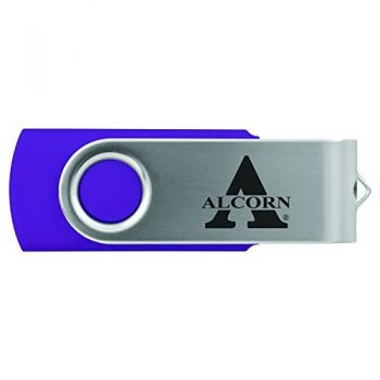 Alcorn State University -8GB 2.0 USB Flash Drive-Purple