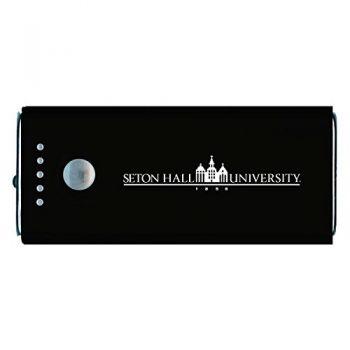 Seton Hall University -Portable Cell Phone 5200 mAh Power Bank Charger -Black