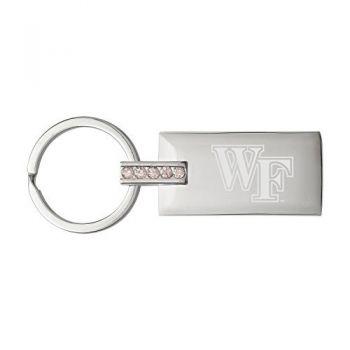 Wake Forest University-Jeweled Key Tag
