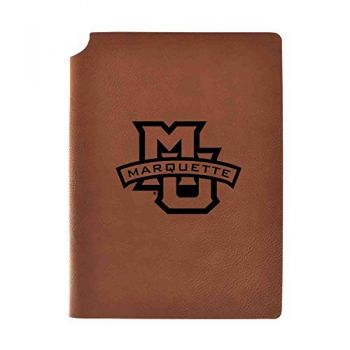 Marquette University Velour Journal with Pen Holder|Carbon Etched|Officially Licensed Collegiate Journal|