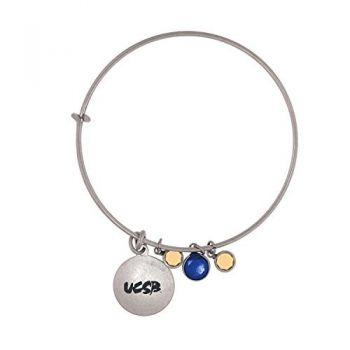 University of California, Santa Barbara-Frankie Tyler Charmed Bracelet