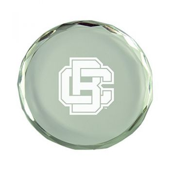 Bethune-Cookman University-Crystal Paper Weight