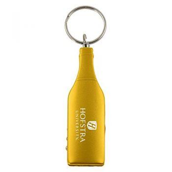 Hofstra University-Wine Shaped Bottle Opener-Gold
