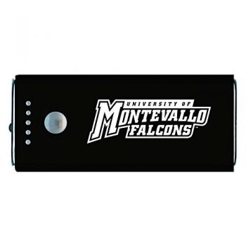 University of Montevallo-Portable Cell Phone 5200 mAh Power Bank Charger -Black
