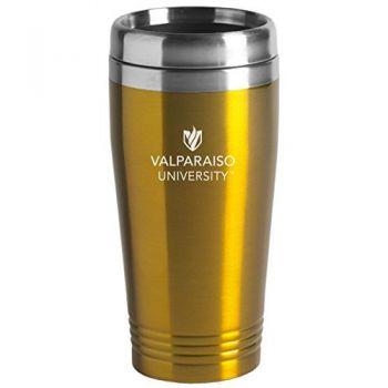 Valparaiso University - 16-ounce Travel Mug Tumbler - Gold