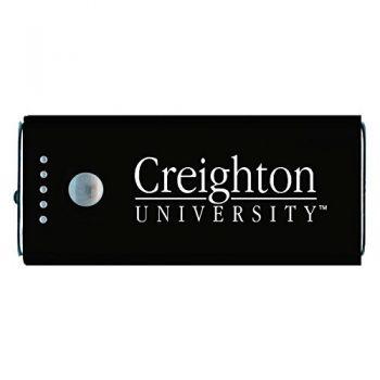 Creighton University -Portable Cell Phone 5200 mAh Power Bank Charger -Black