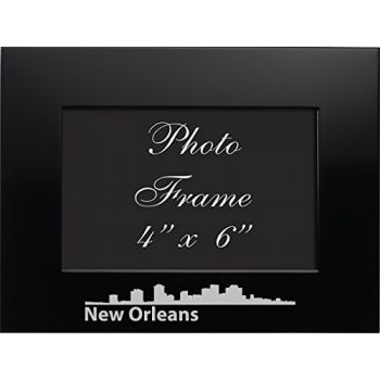 4 x 6  Metal Picture Frame - New Orleans City Skyline