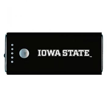 Iowa State University -Portable Cell Phone 5200 mAh Power Bank Charger -Black