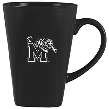 14 oz Square Ceramic Coffee Mug - Memphis Tigers